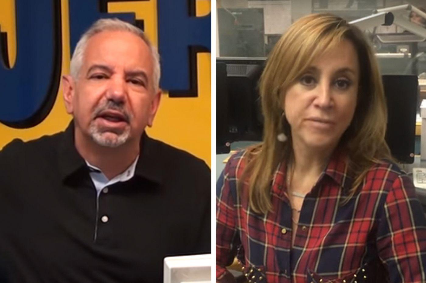 NJ 101.5 suspends 'Dennis & Judi' hosts for racist comments about N.J. attorney general