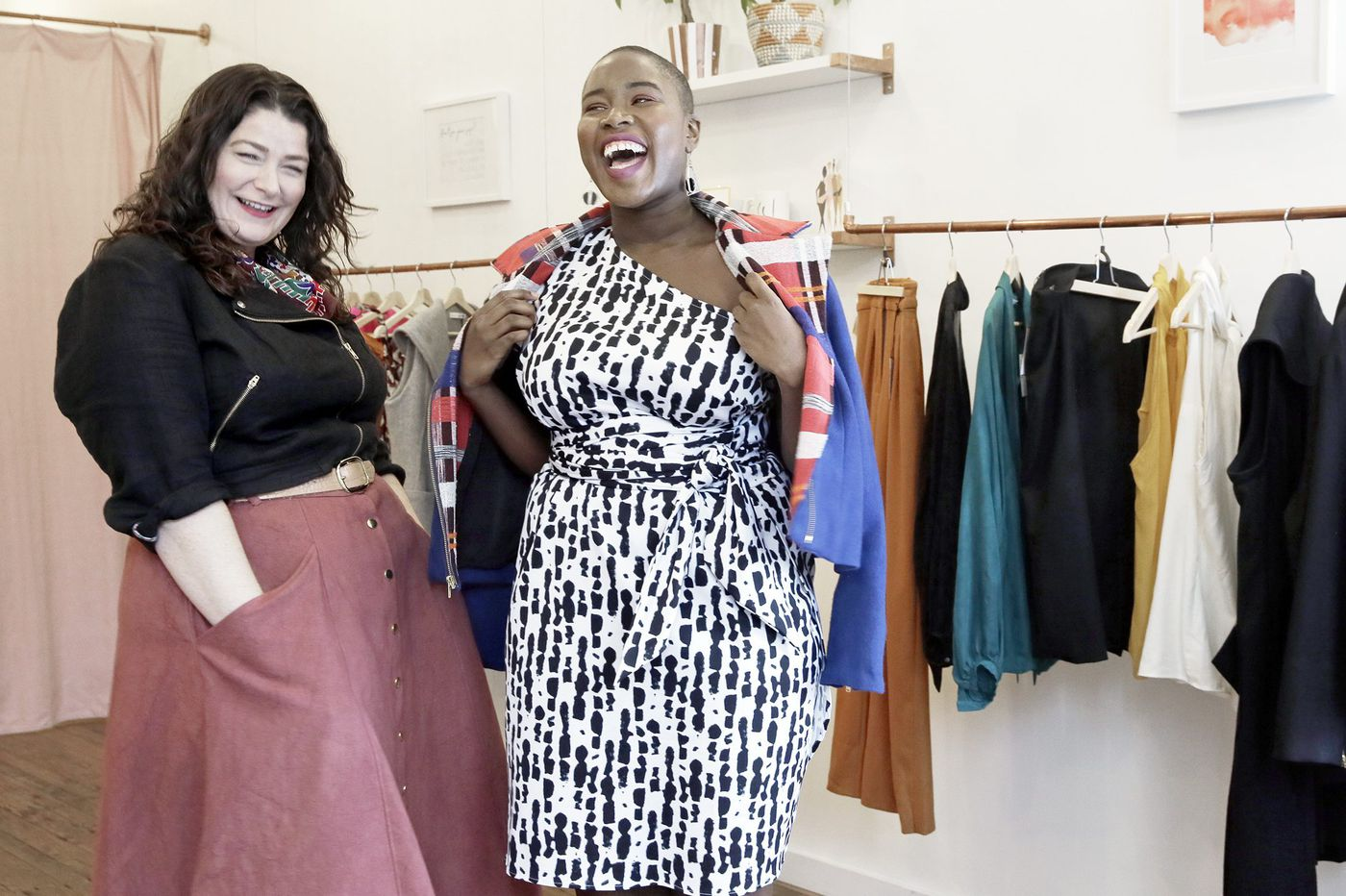 4a97d2f1 East Falls' Alice Alexander offers custom chic to plus-size ladies who are  tired of wearing ...