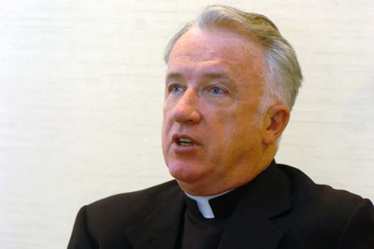 Bishop Michael Bransfield in 2005, when he was named to head Wheeling-Charleston. (DALE SPARKS / Associated Press, File)
