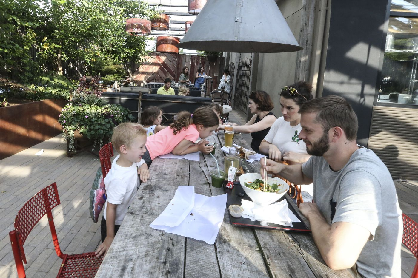 In Chestnut Hill, residents sue family-friendly beer garden