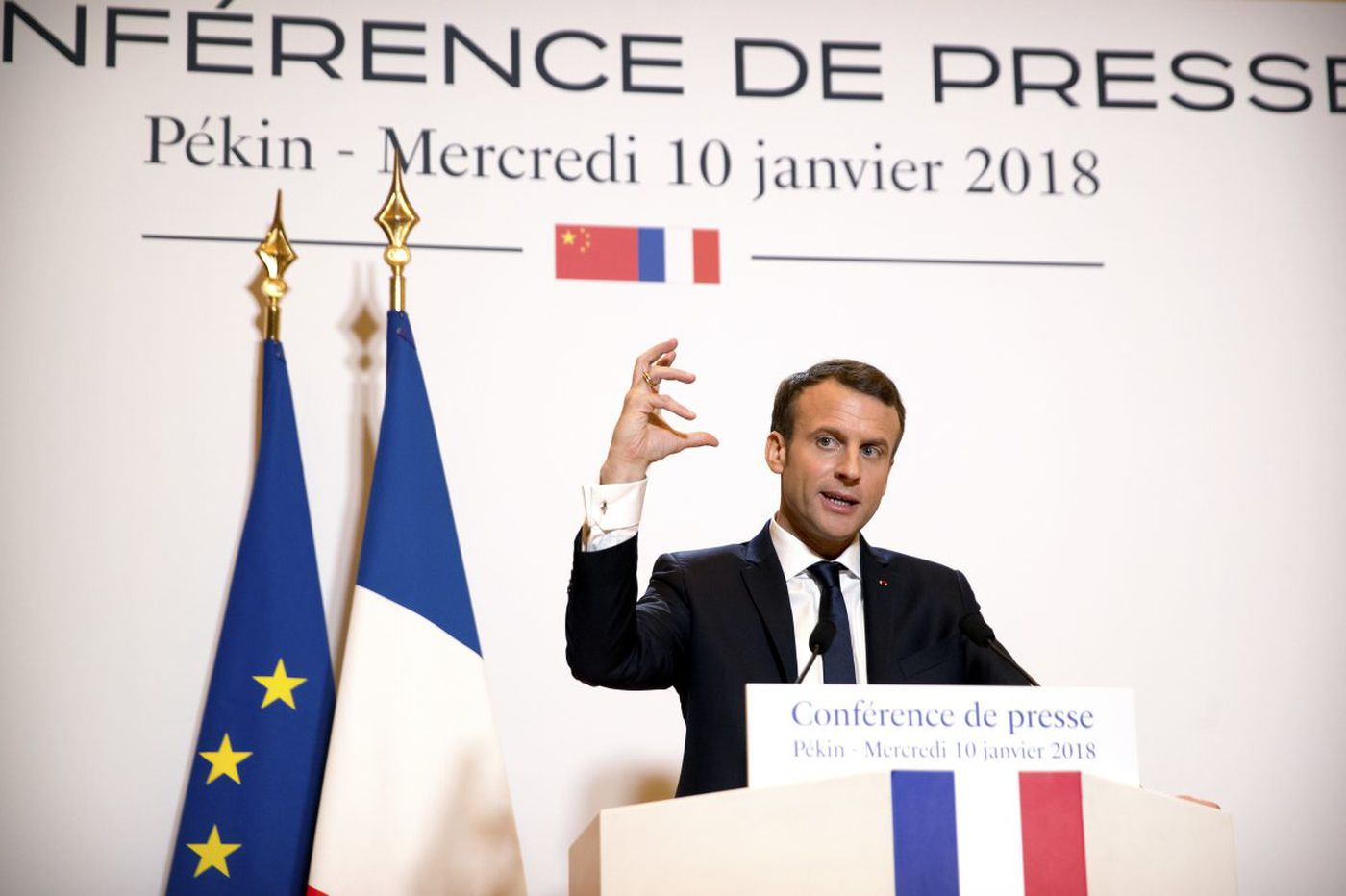 France weighs a law to rein in 'fake news,' raising fears for freedom of speech
