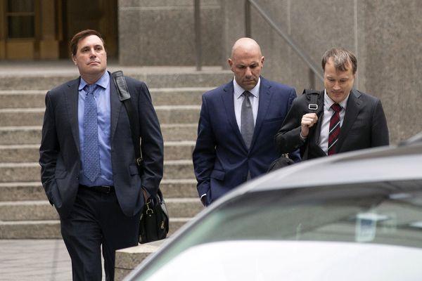 The Latest: 2 plead not guilty in Giuliani-associate probe