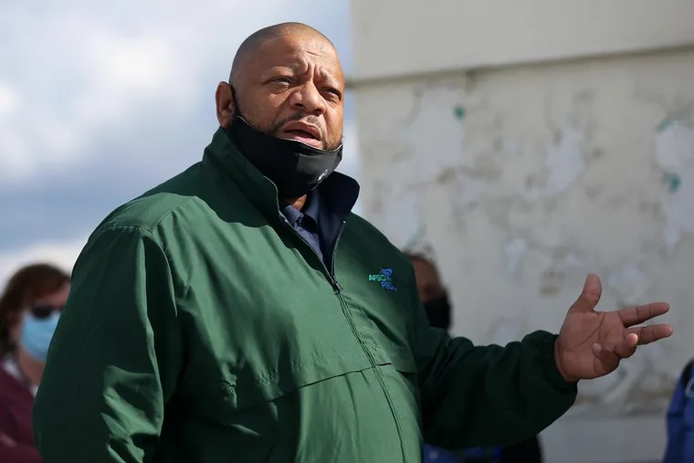 Ernest Garrett, president of AFSCME District Council 33, negotiated a new contract on behalf of the city's blue-collar workers.