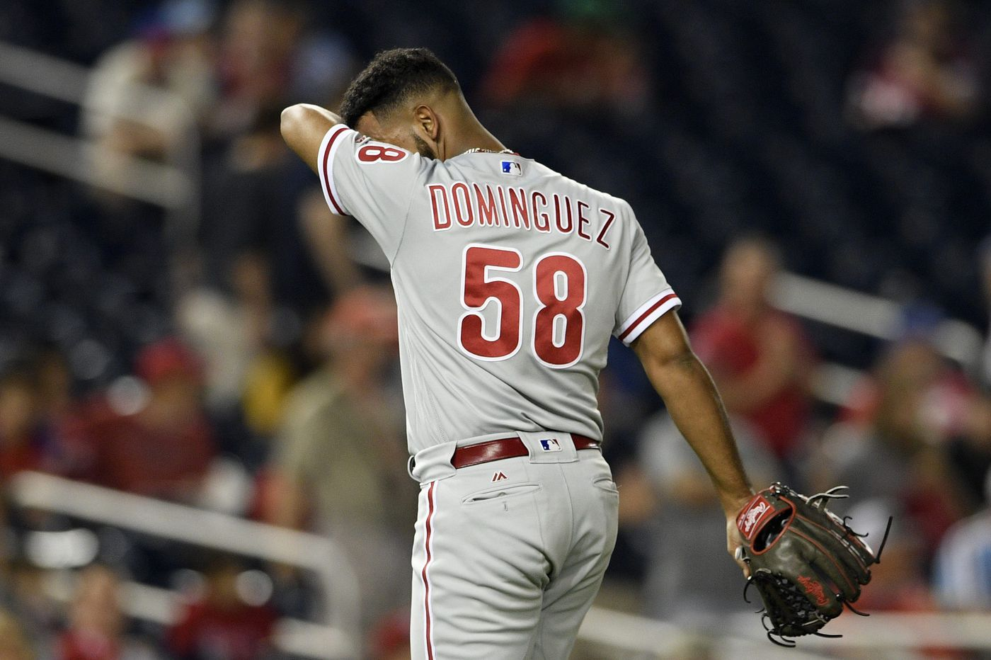 Phillies' bullpen coughs up lead in loss to Nationals