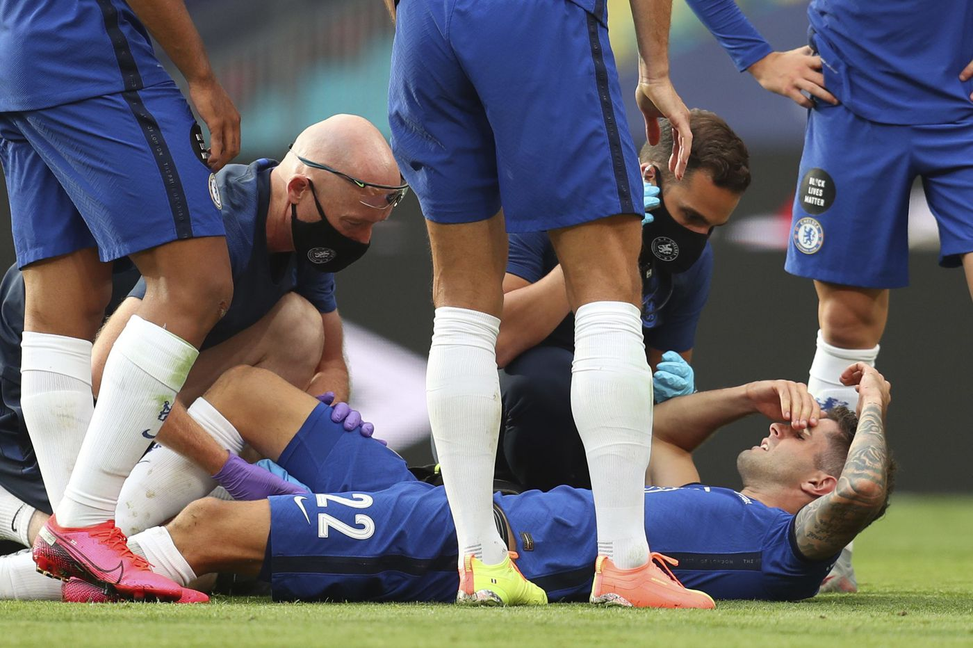 Christian Pulisic out 6 weeks with hamstring injury, could miss Premier League season's start