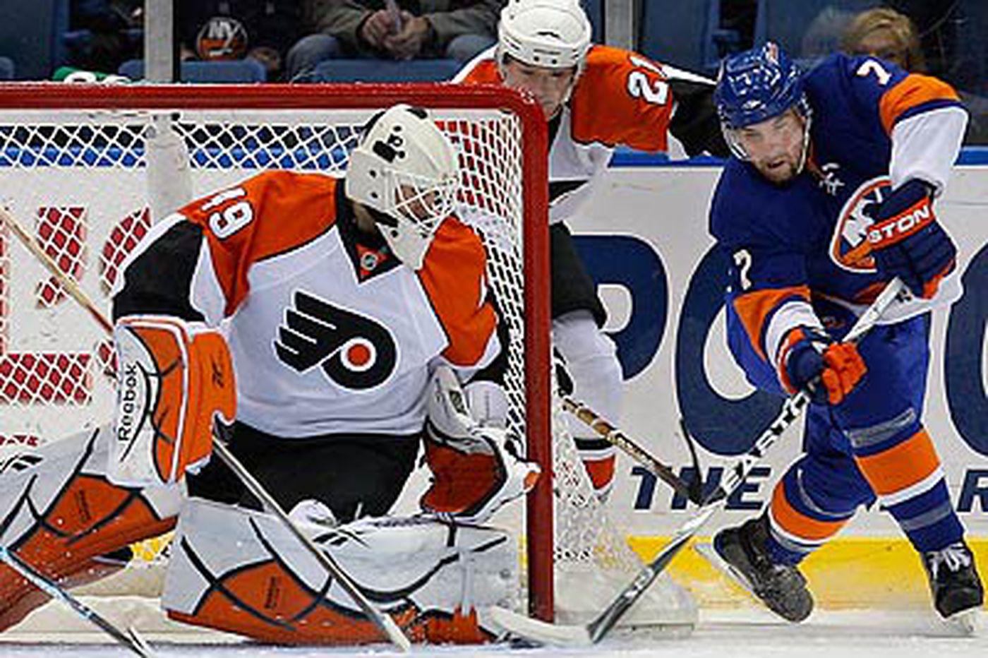 Flyers win third straight