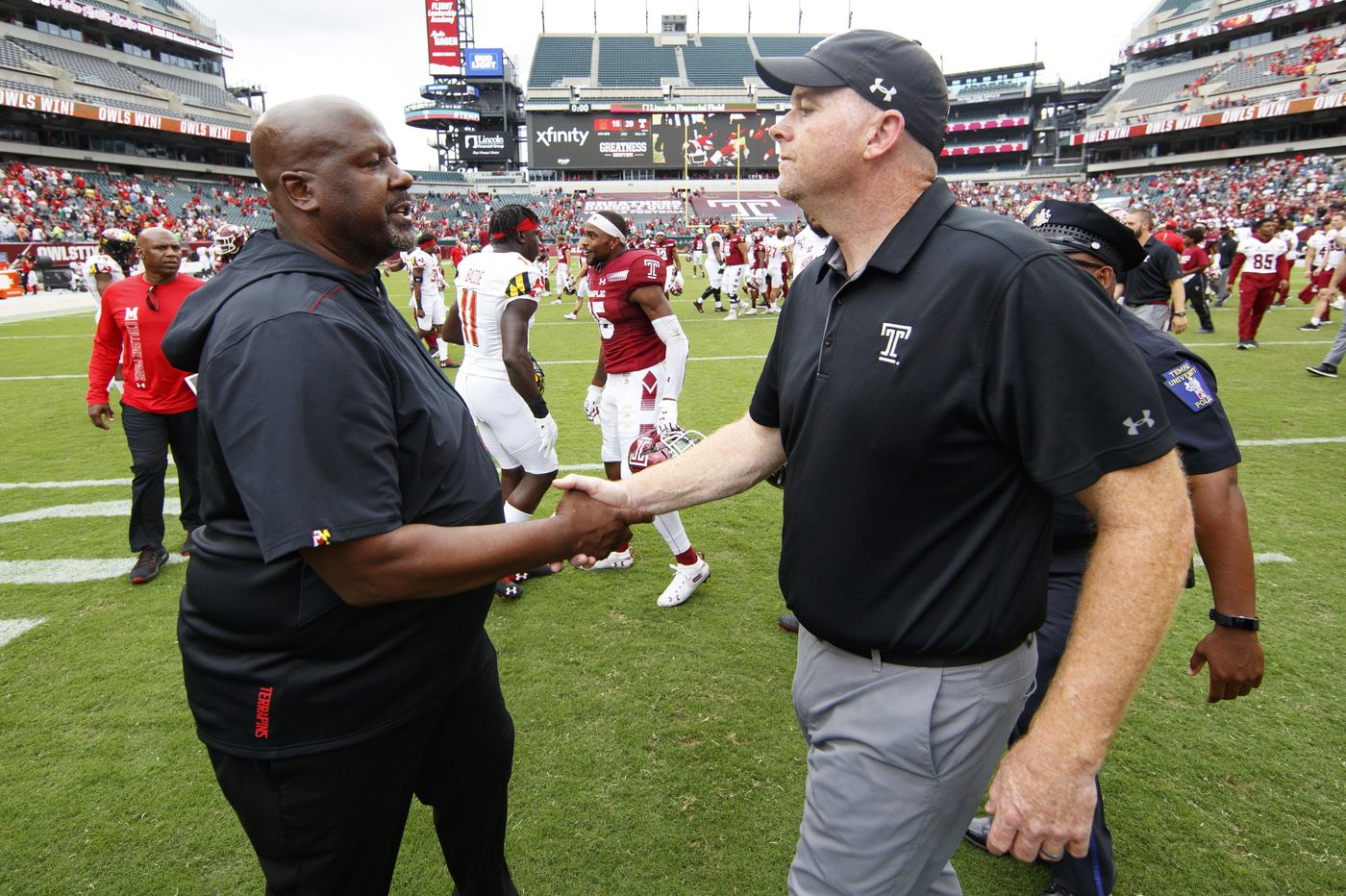 Temple tough? Rod Carey should have let players talk after lopsided loss.   Mike Jensen