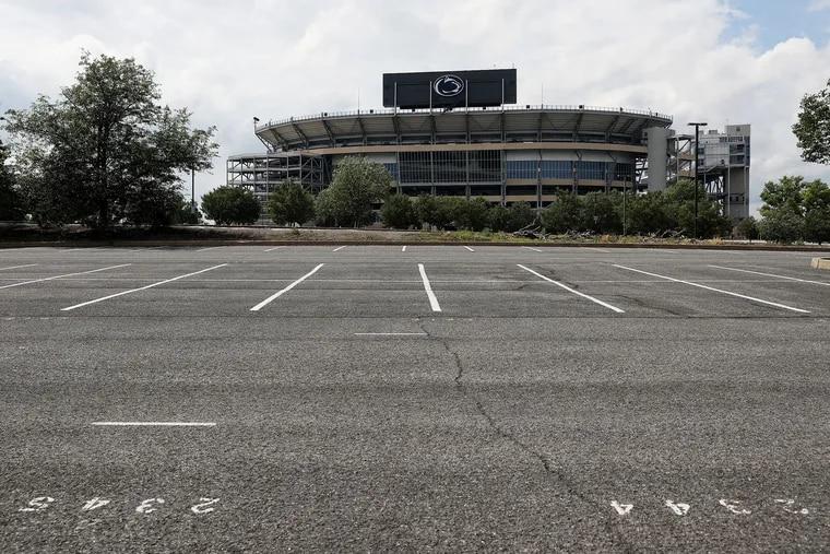 Beaver Stadium at Penn State.