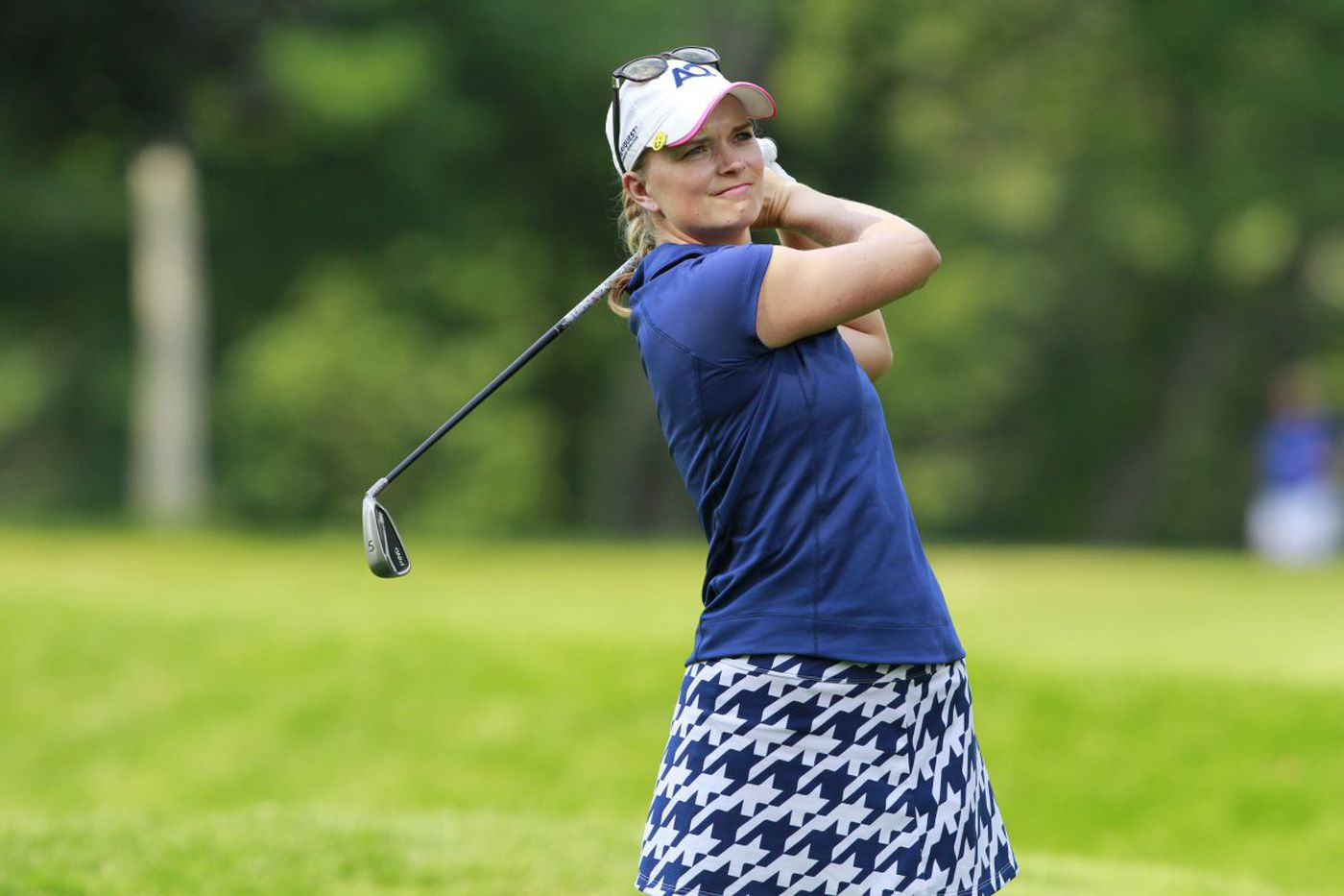 For Lafayette Hill's Emily Gimpel, finding success in pro golf is challenging