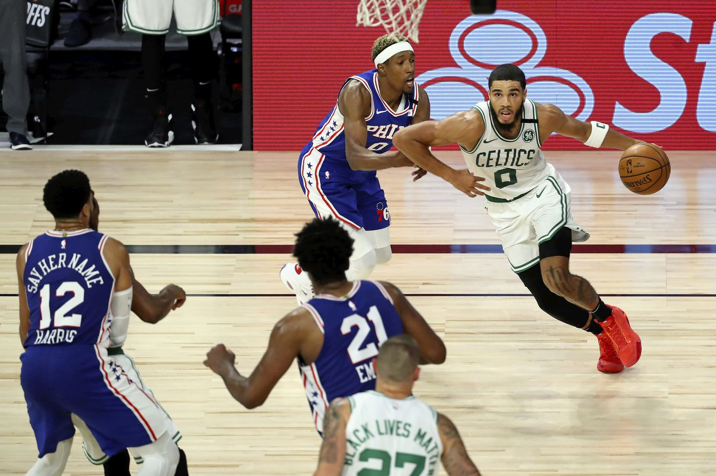 Observations from Sixers' Game 3 playoff loss to the Celtics: Richardson's D, Tatum's slow start, and a 3-0 hole
