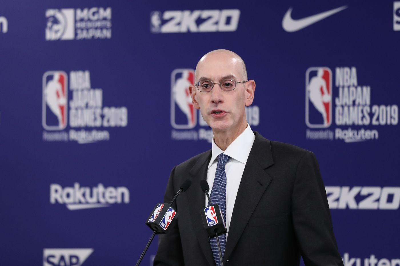 Adam Silver's 'best guess' is the next NBA season will start in January at the earliest