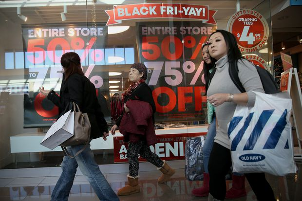 The booming Black Friday weekend had more shoppers on smartphones and in stores