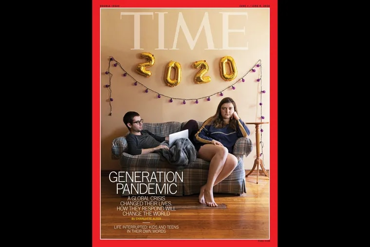 Time Magazine's June cover story about the 2020 graduating class features images created by Hannah Beier, a 23-year-old Drexel University student and Fort Washington, Pa., native. Beier coordinated the portraits using FaceTime.