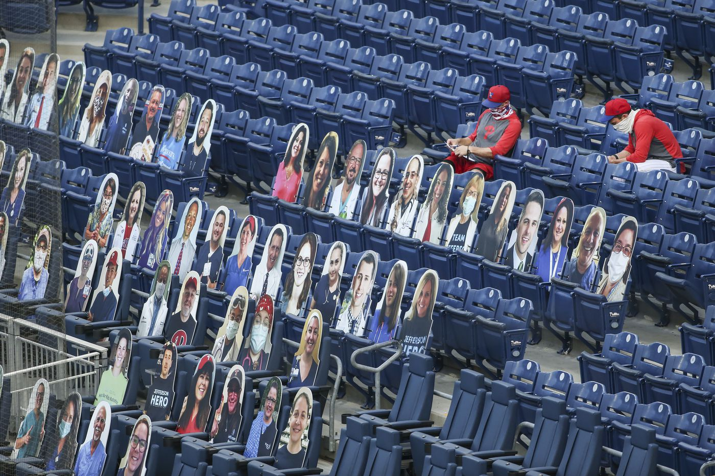 Phillies set price for cardboard fan cutouts, unveil plan to honor health-care workers for season-opening series