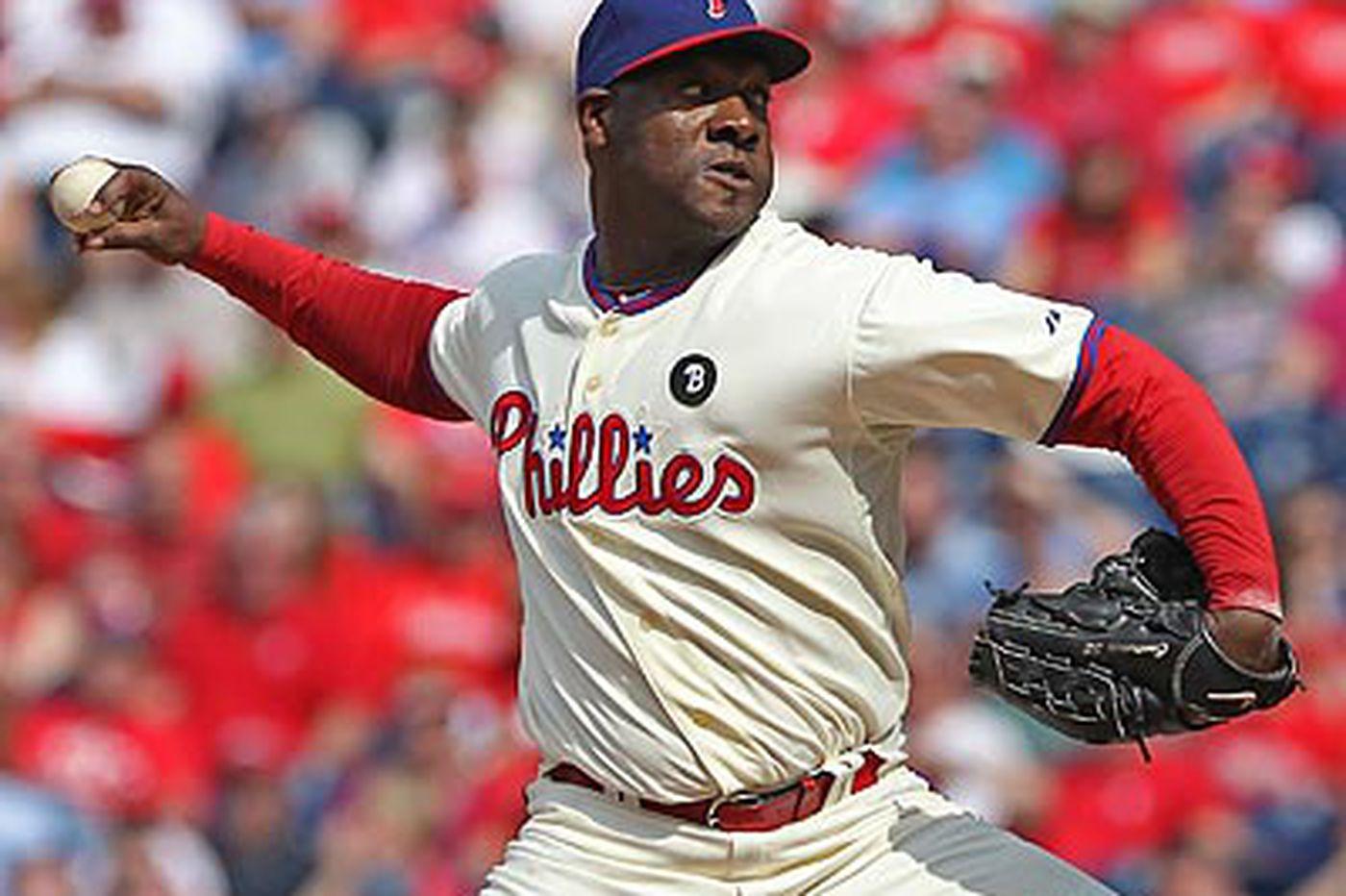 Phillies put Contreras on DL