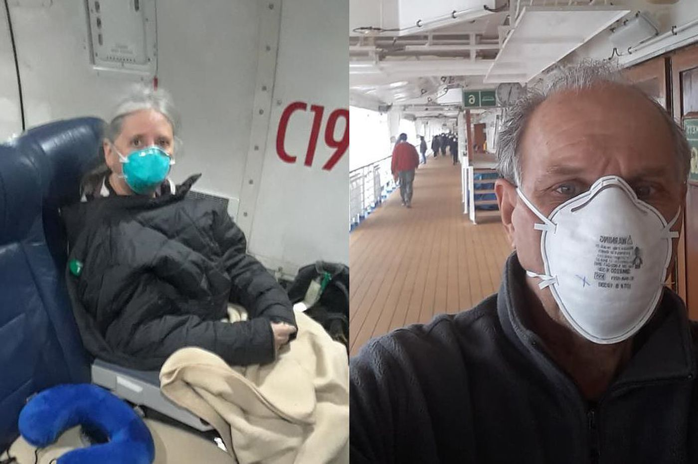 York County couple quarantined for coronavirus at U.S. Air Force base after evacuating cruise ship in Japan