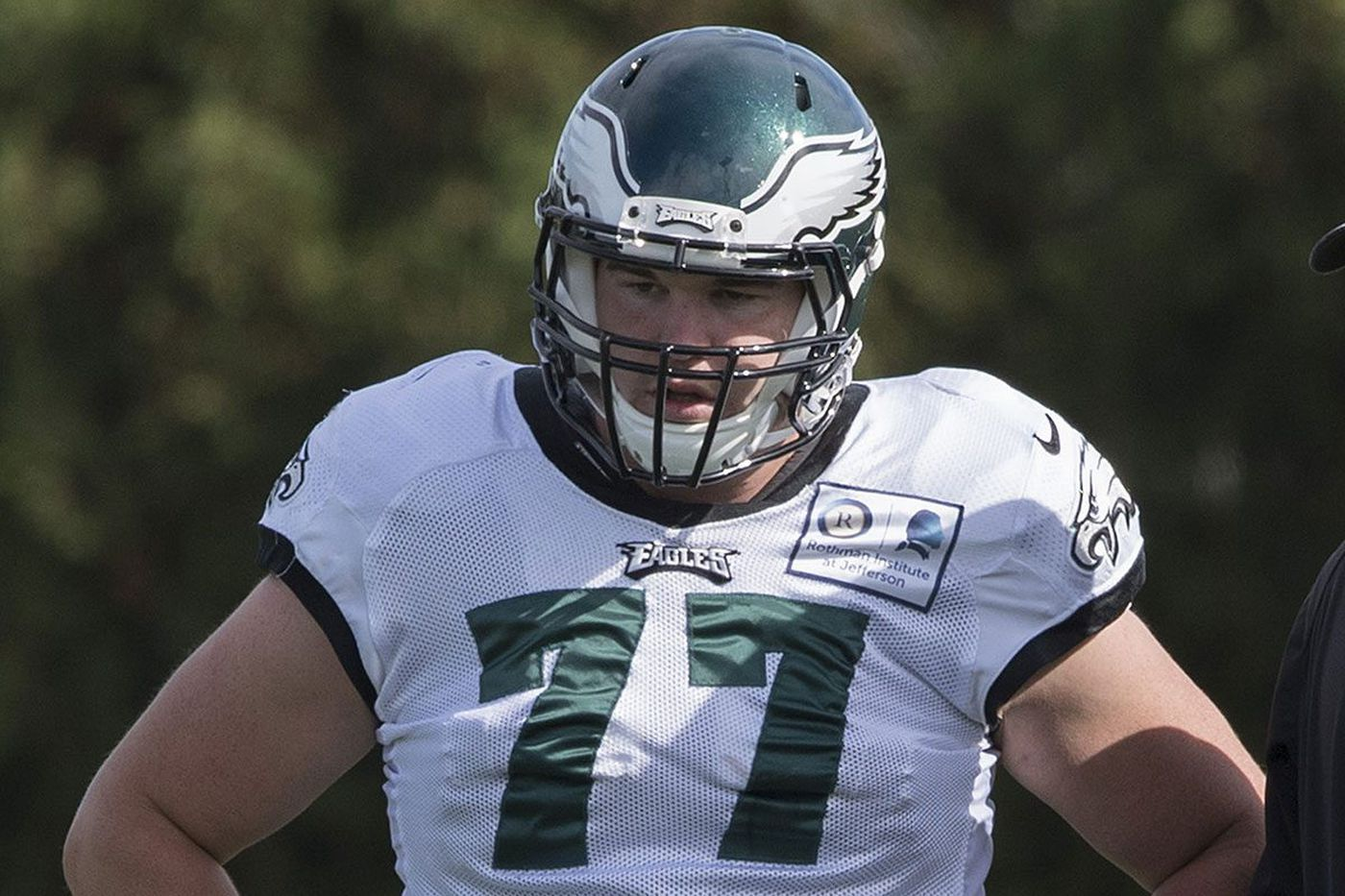Eagles sign OL Taylor Hart, a converted defensive lineman; Jason Peters goes on injured reserve