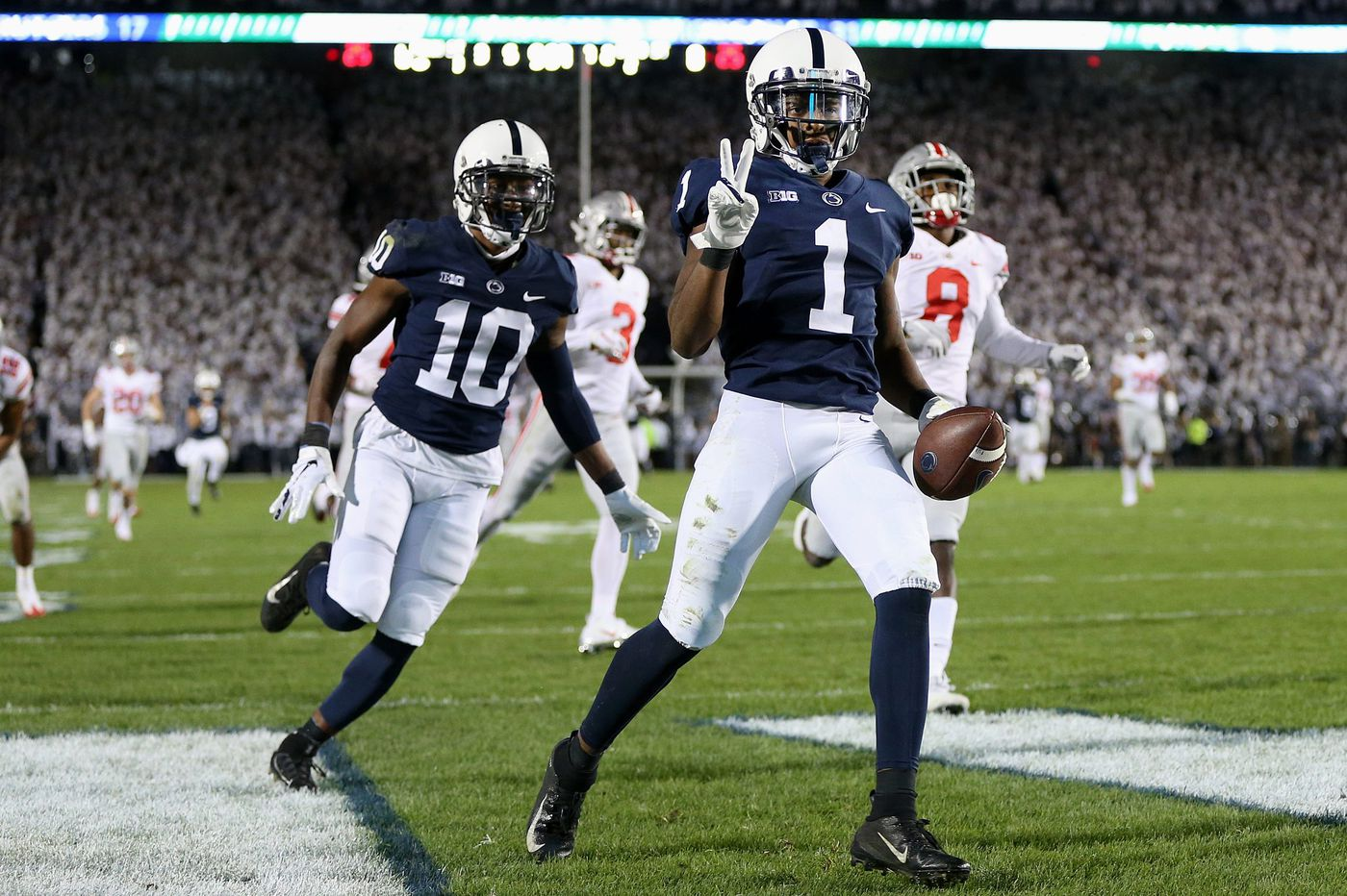Penn State's K.J. Hamler makes some serious plays while having fun