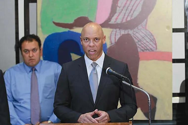 Superintendent William R. Hite Jr. said improving academics was also a focus. DAVID SWANSON / Staff Photographer