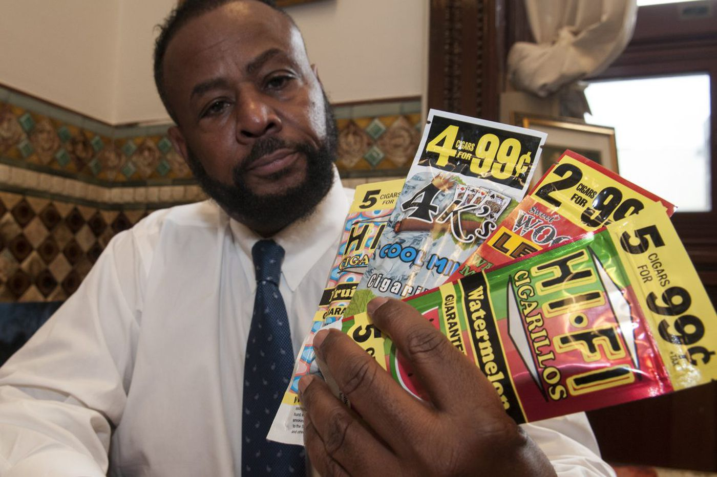Let's ban all candy-flavored tobacco products | Jenice Armstrong