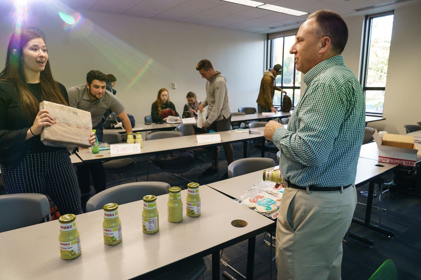 At St. Joe's, students learn the business of food