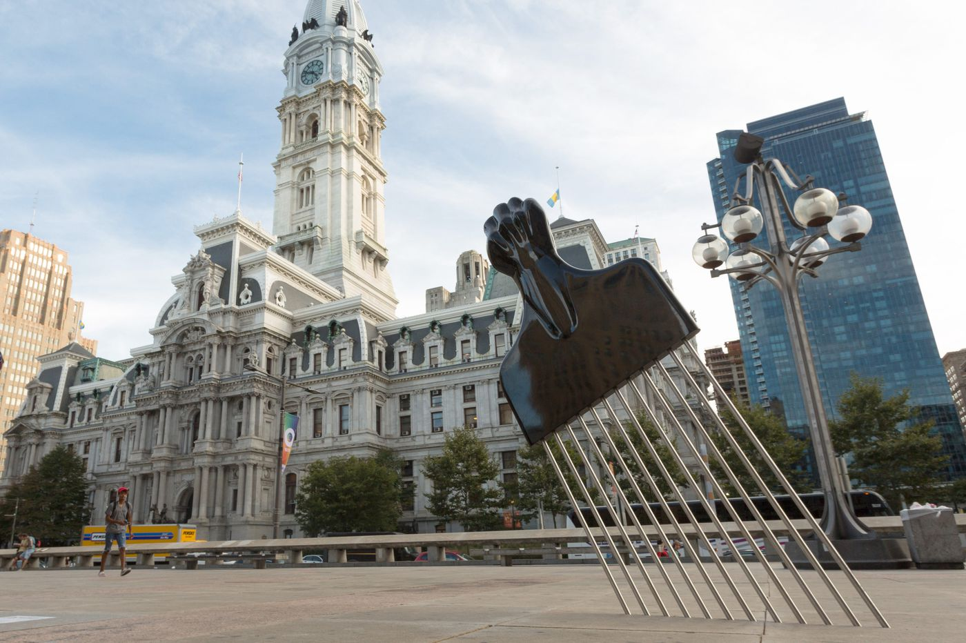 PAFA acquires monumental Afro pick first displayed near Rizzo statue