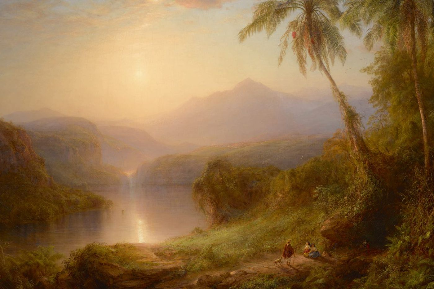 PAFA acquires major Hudson River School painting, invites all of Berkshire, Mass., to visit it free forever