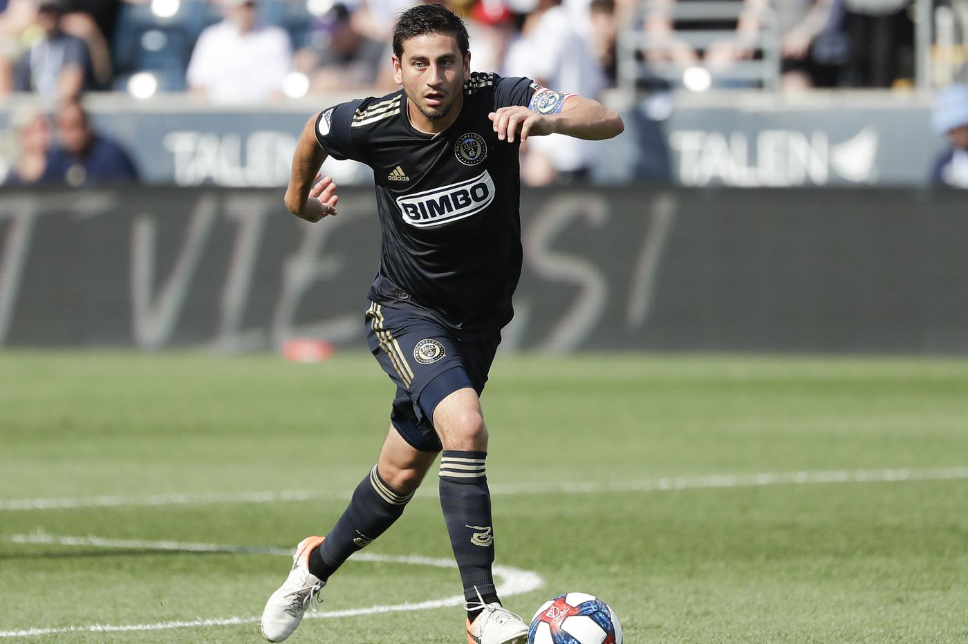 Watch: Union's Alejandro Bedoya yells for Congress to 'end gun violence' during goal celebration