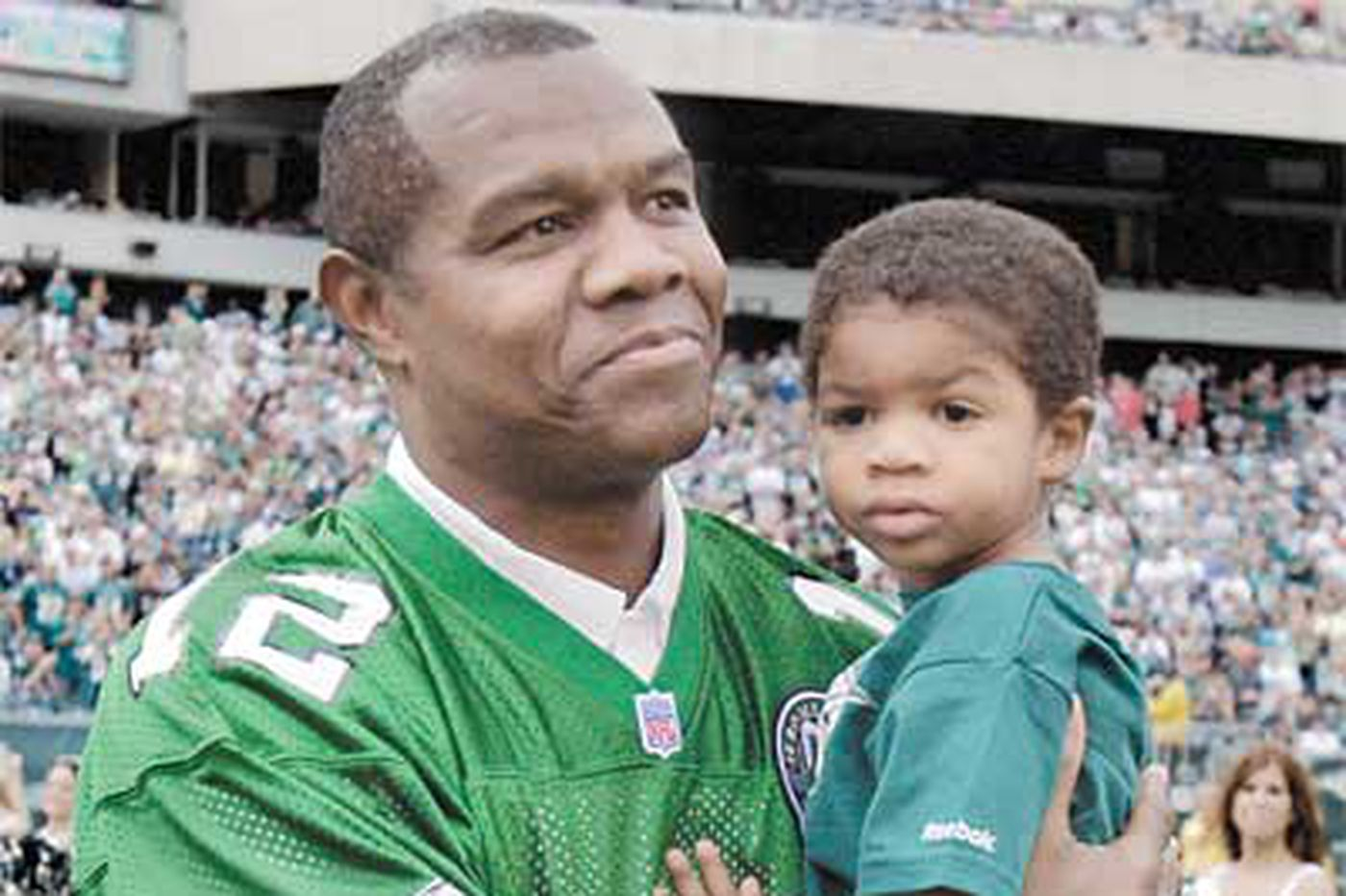 Former Eagle Randall Cunningham's 2-year-old son found floating in hot tub