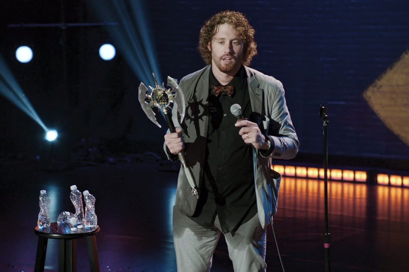 Comedian TJ Miller bought a battle ax in Philadelphia, and you can, too