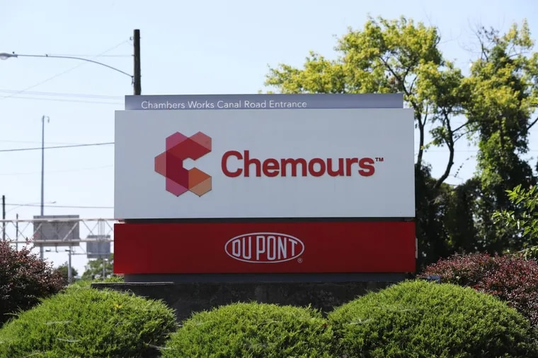 Chemours, a group of older chemical businesses, was spun off by DuPont Co. before its recent merger with Dow Chemical Co. Shown is the entrance to Chemours' operation at DuPont's Chambers Works in Salem County, N.J. The company also has offices in Wilmington.