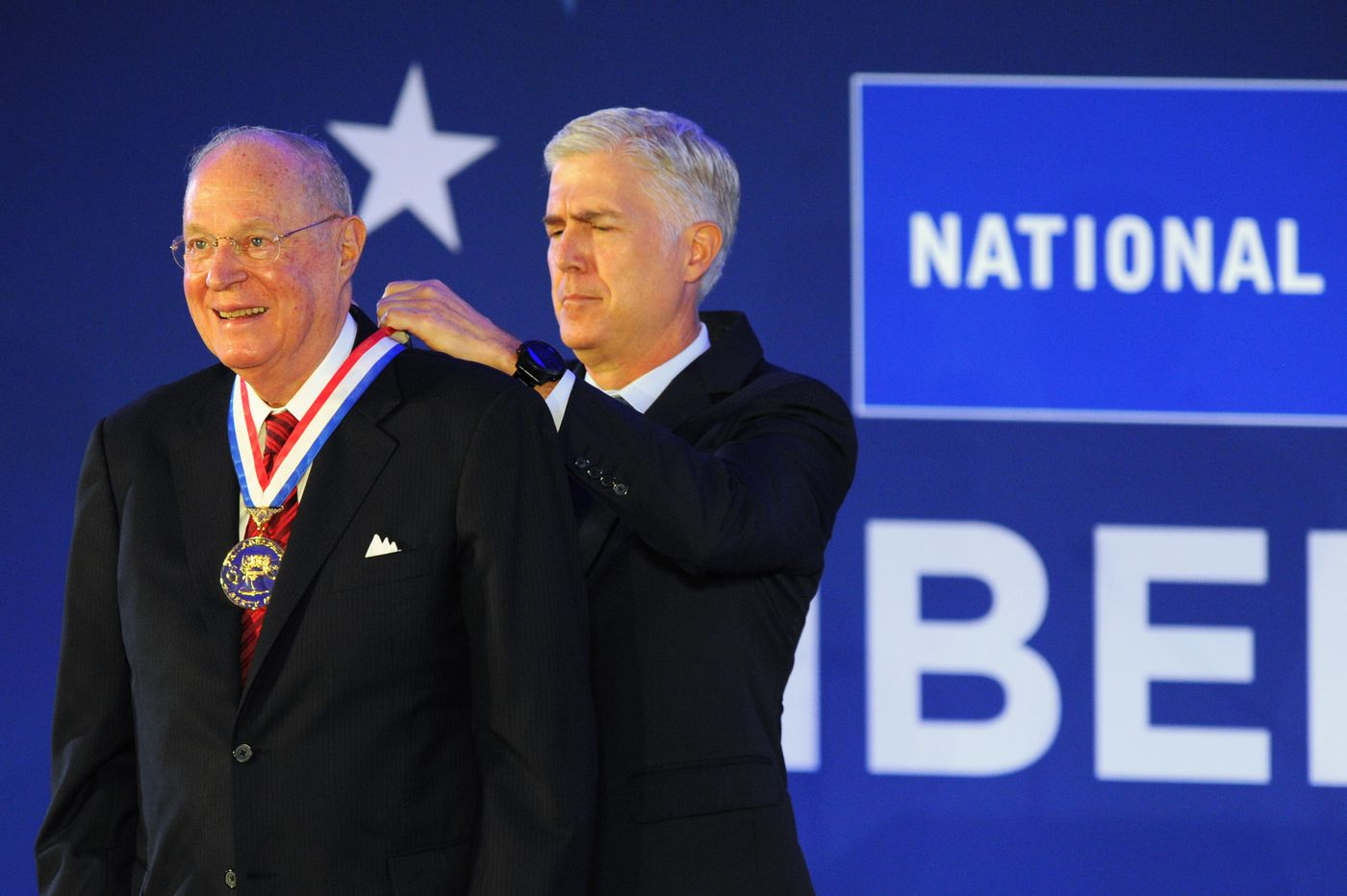 Liberty Medal awarded to former Supreme Court Justice Anthony Kennedy