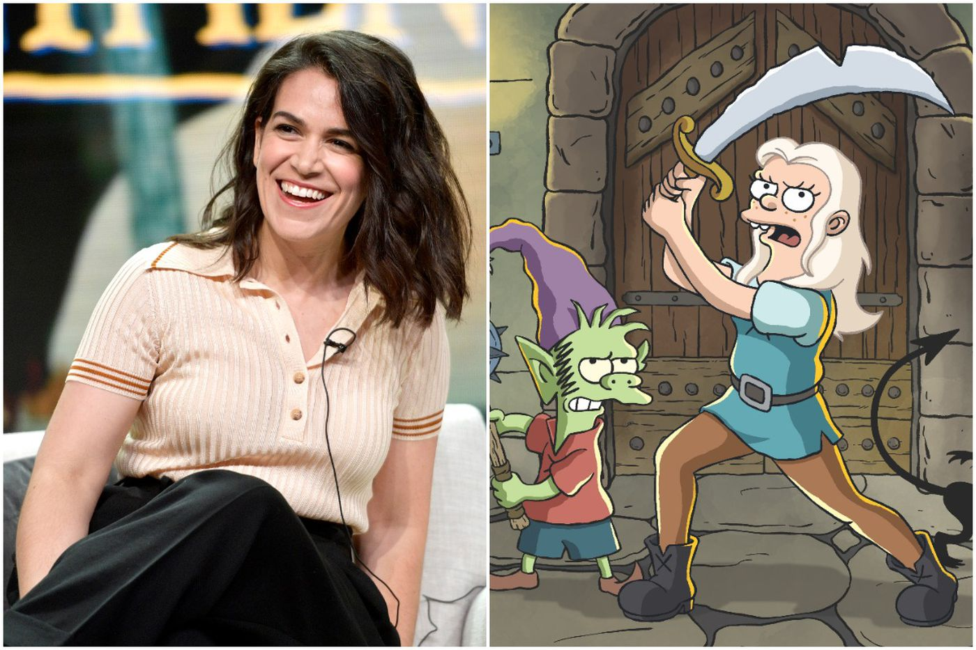 Wayne's Abbi Jacobson talks about voicing Matt Groening's 'Disenchantment' princess and planning 'Broad City' farewell