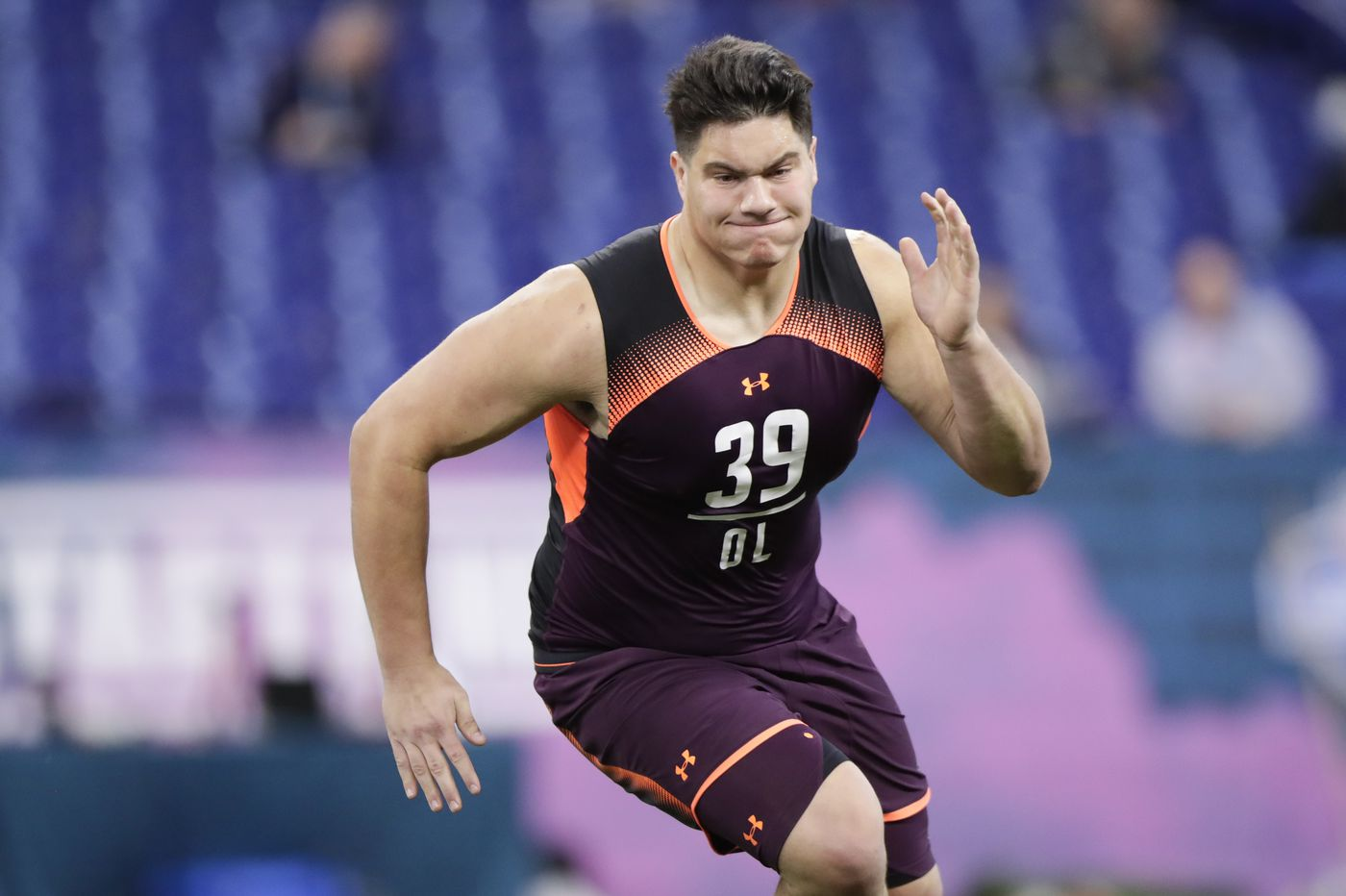 Penn State OL Connor McGovern's versatility could appeal to Eagles