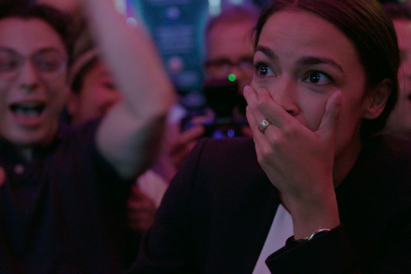 Alexandria Ocasio-Cortez proves why she's a star in 'Knock Down the House,' where women storm the political barricades | Movie review