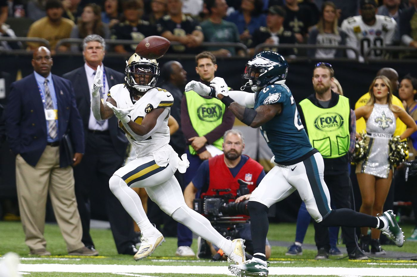 Eagles open as 8.5-point underdogs to Saints in NFL playoff divisional matchup