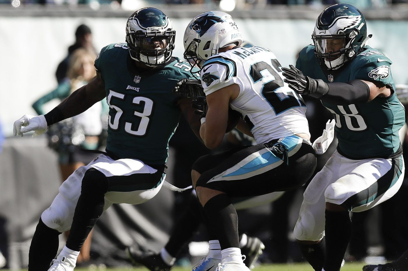 Key to Eagles victory Sunday will be neutralizing Ezekiel Elliott and Dallas Cowboys run game