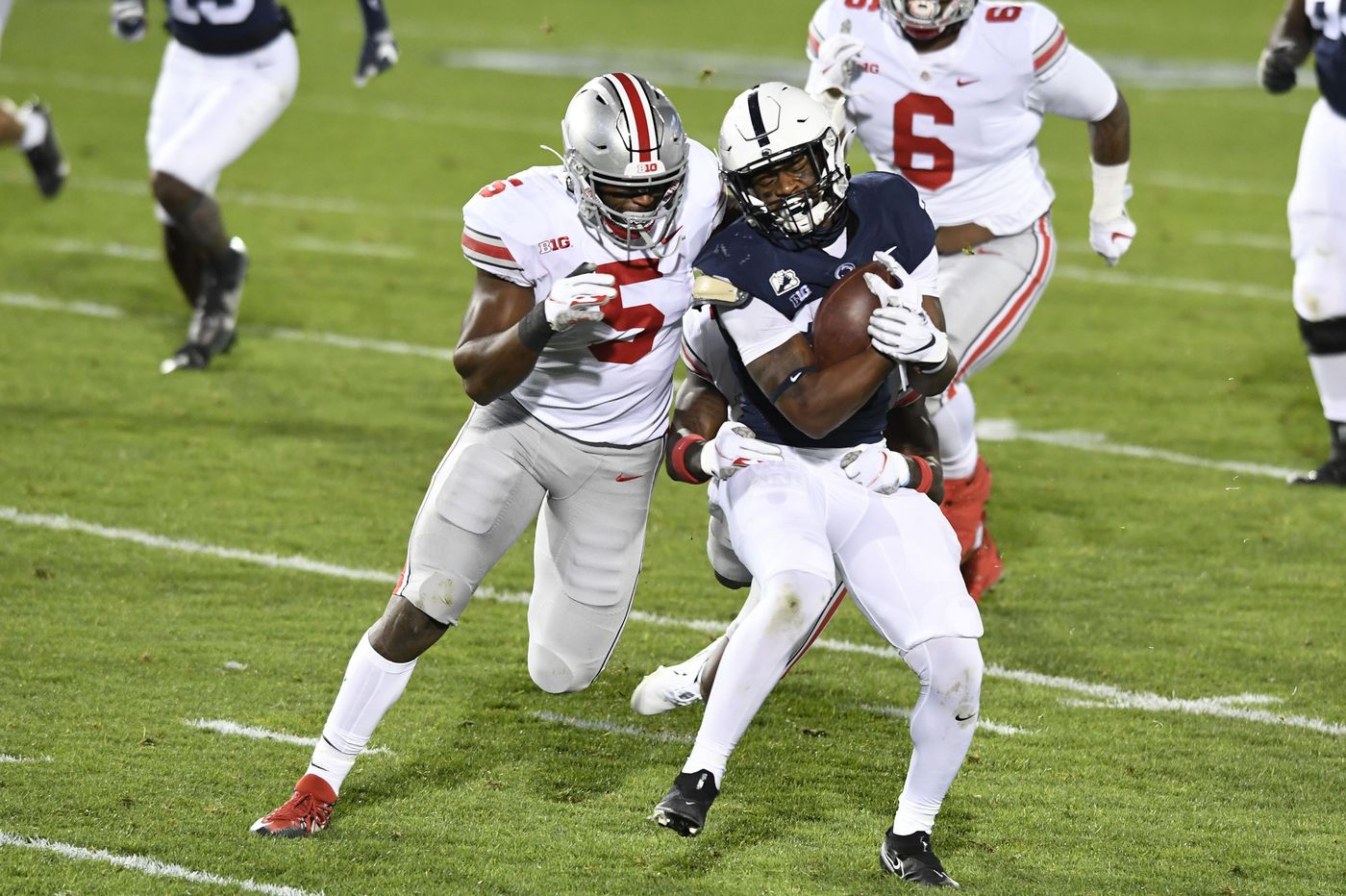 Penn State's revamped offense still trying to work out the kinks