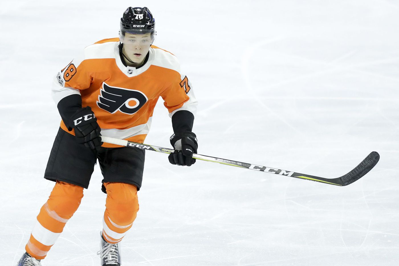 Left winger Matthew Strome: Skating into the Flyers' plans