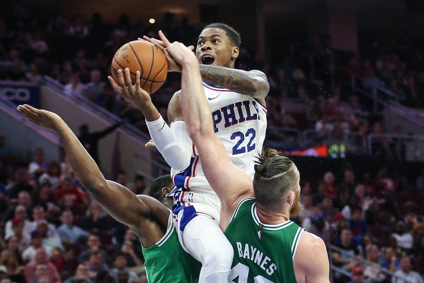Sixers' Richaun Holmes remains sidelined