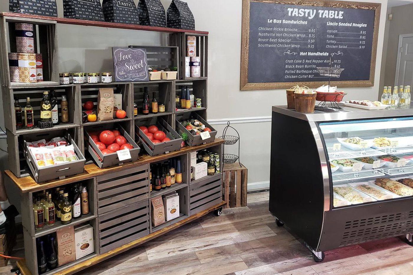 Main Line caterer Tasty Table opens a market for takeout and pantry staples