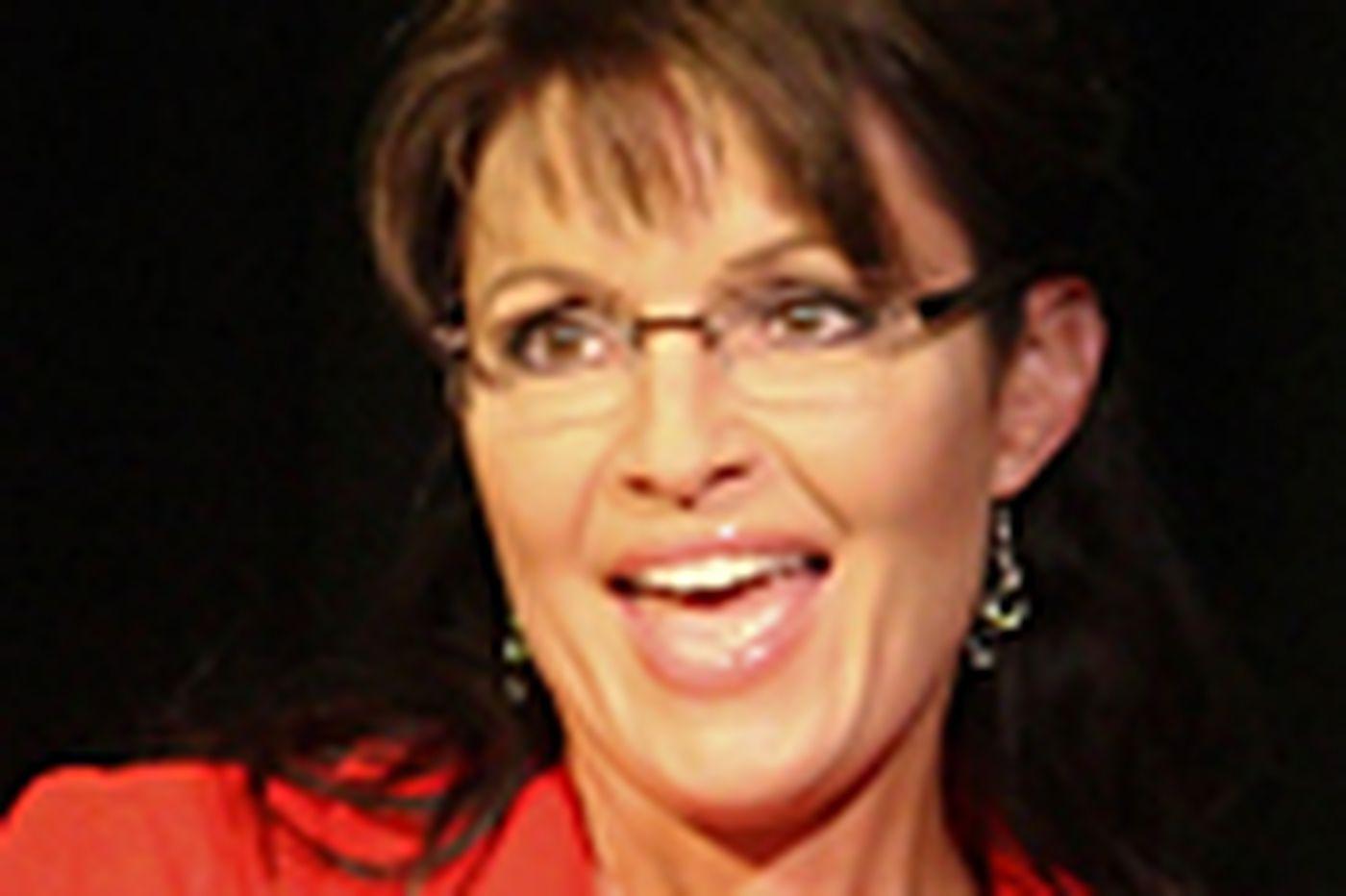 Sarah Palin reveals herself