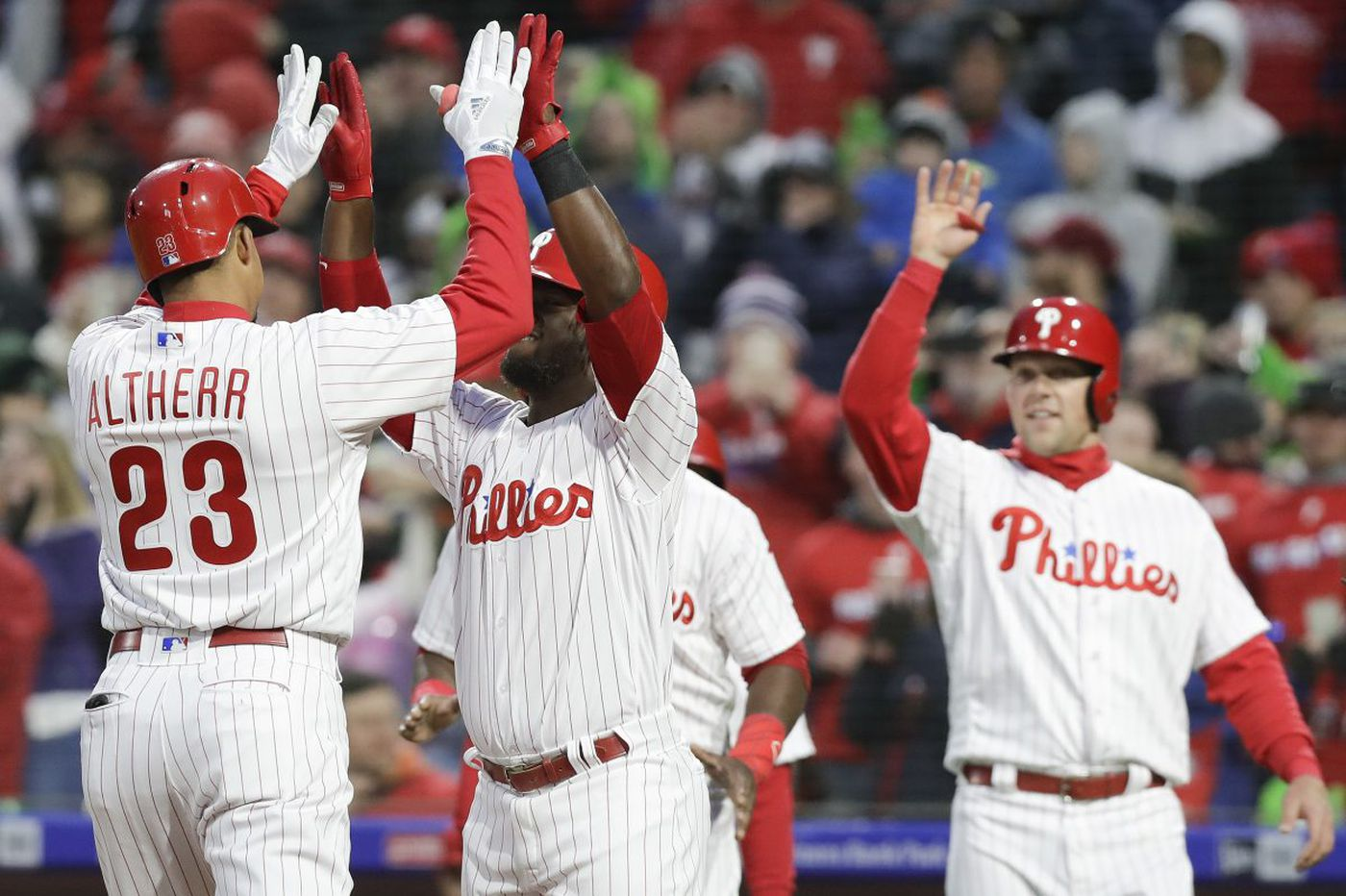 Phillies hit two grand slams, Maikel Franco stays hot to thump Marlins