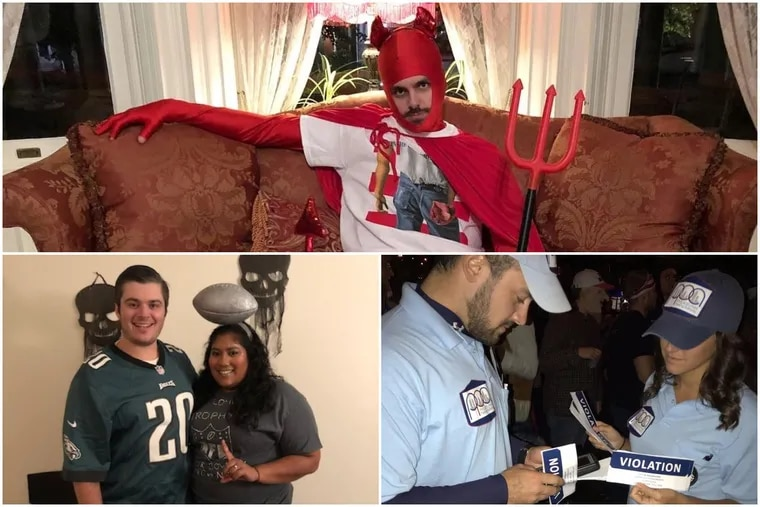 The Jersey Devil, the Lombardi trophy, and PPA enforcers make our roundup of this year's best Halloween costumes inspired by the Philly area.
