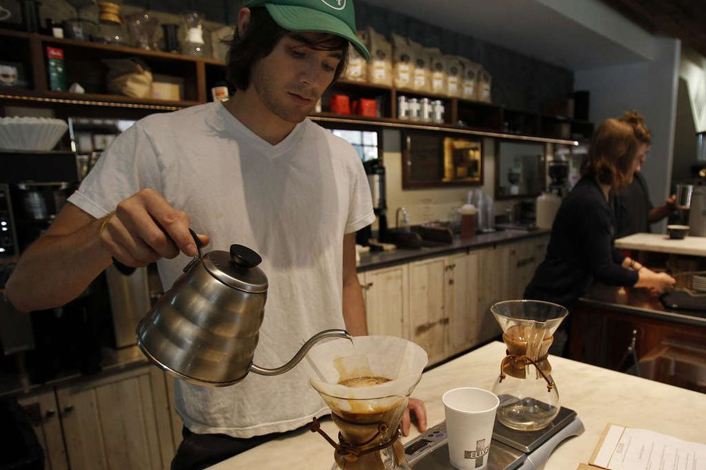 Elixr's new coffee roastery will feature an 'omakase' bar