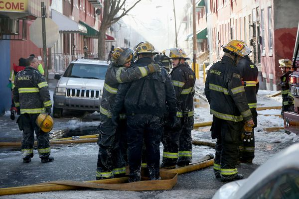 Firefighter, resident killed in North Philly rowhouse blaze, collapse