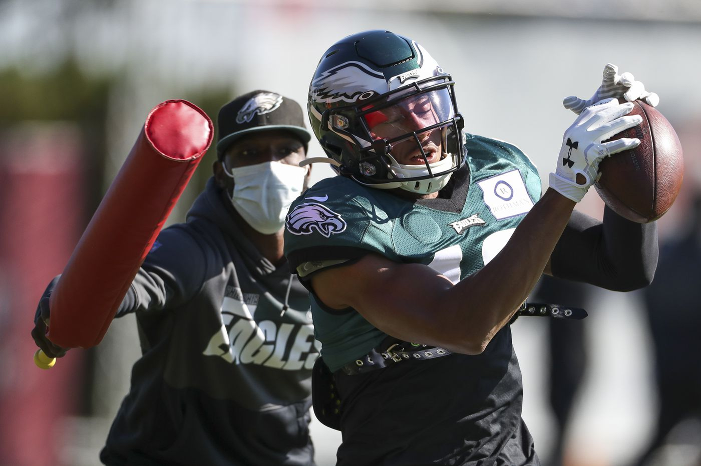 Where does Travis Fulgham fit in as Eagles wide receivers DeSean Jackson and Alshon Jeffery inch closer to return?