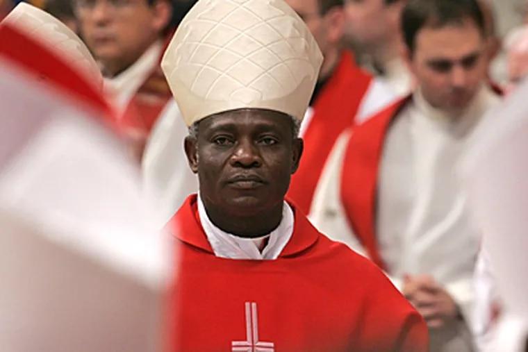 Ghana's Cardinal Peter Kodwo Appiah Turkson (AP)
