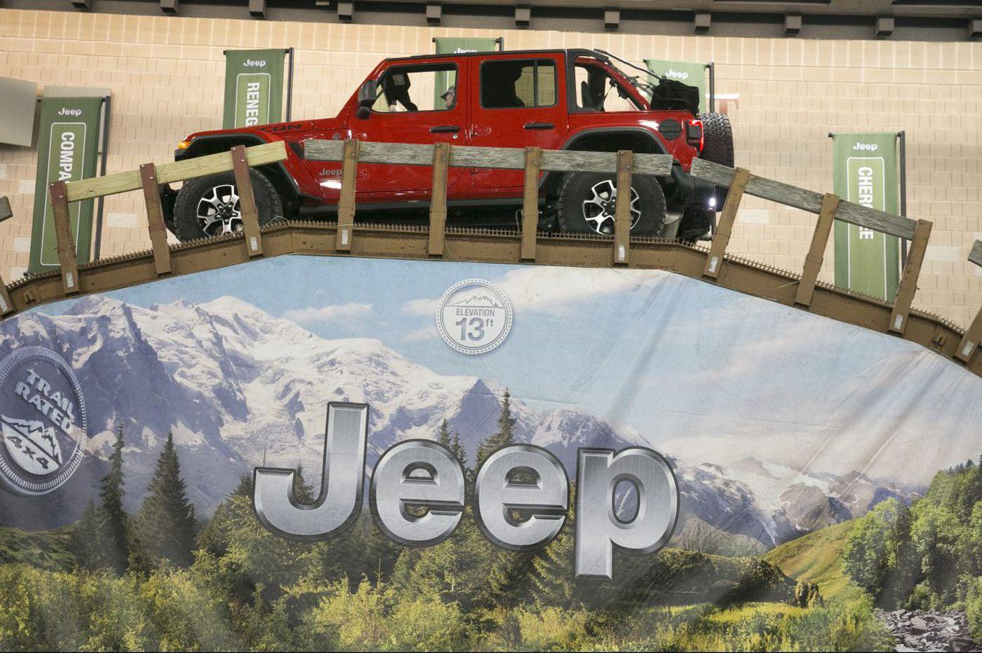 New technology, new trucks top 2018 Philadelphia Auto Show sights