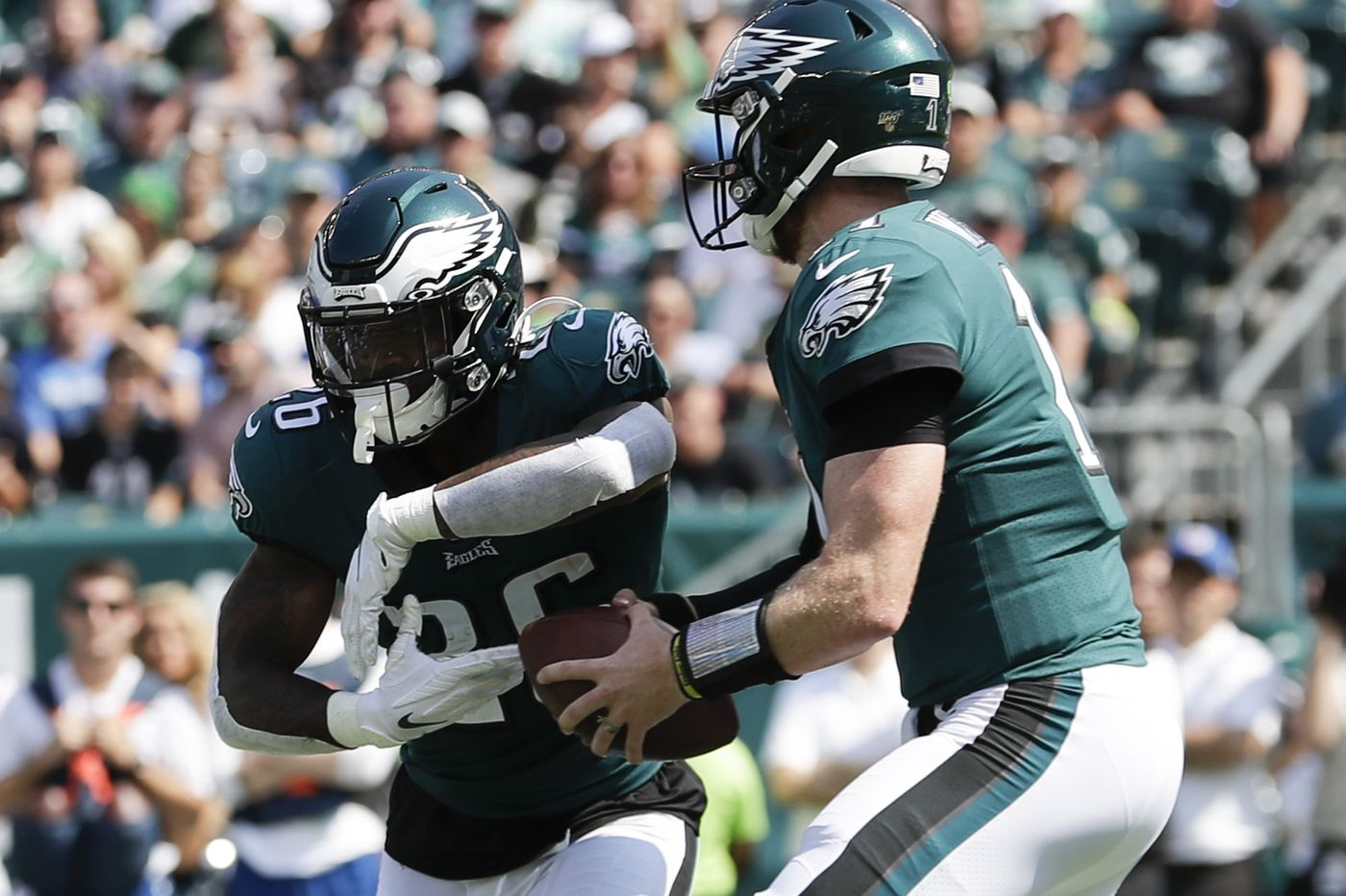 The Eagles are serious about play-action, as Carson Wentz's stats show
